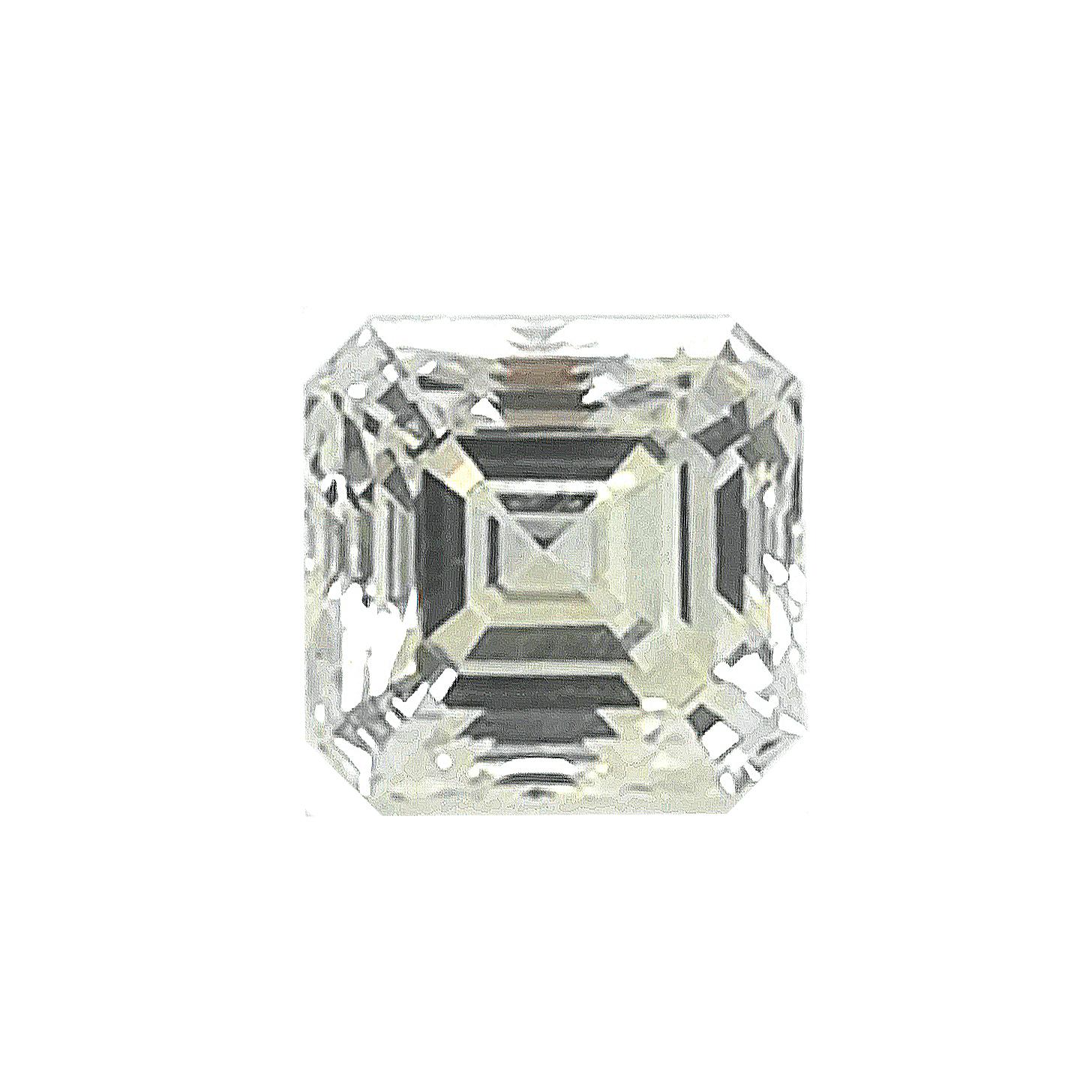 Diamant im Emerald Cut / Assher Cut, 1,19 ct, inkl. DPL-Expertise - Sammler Edelstein