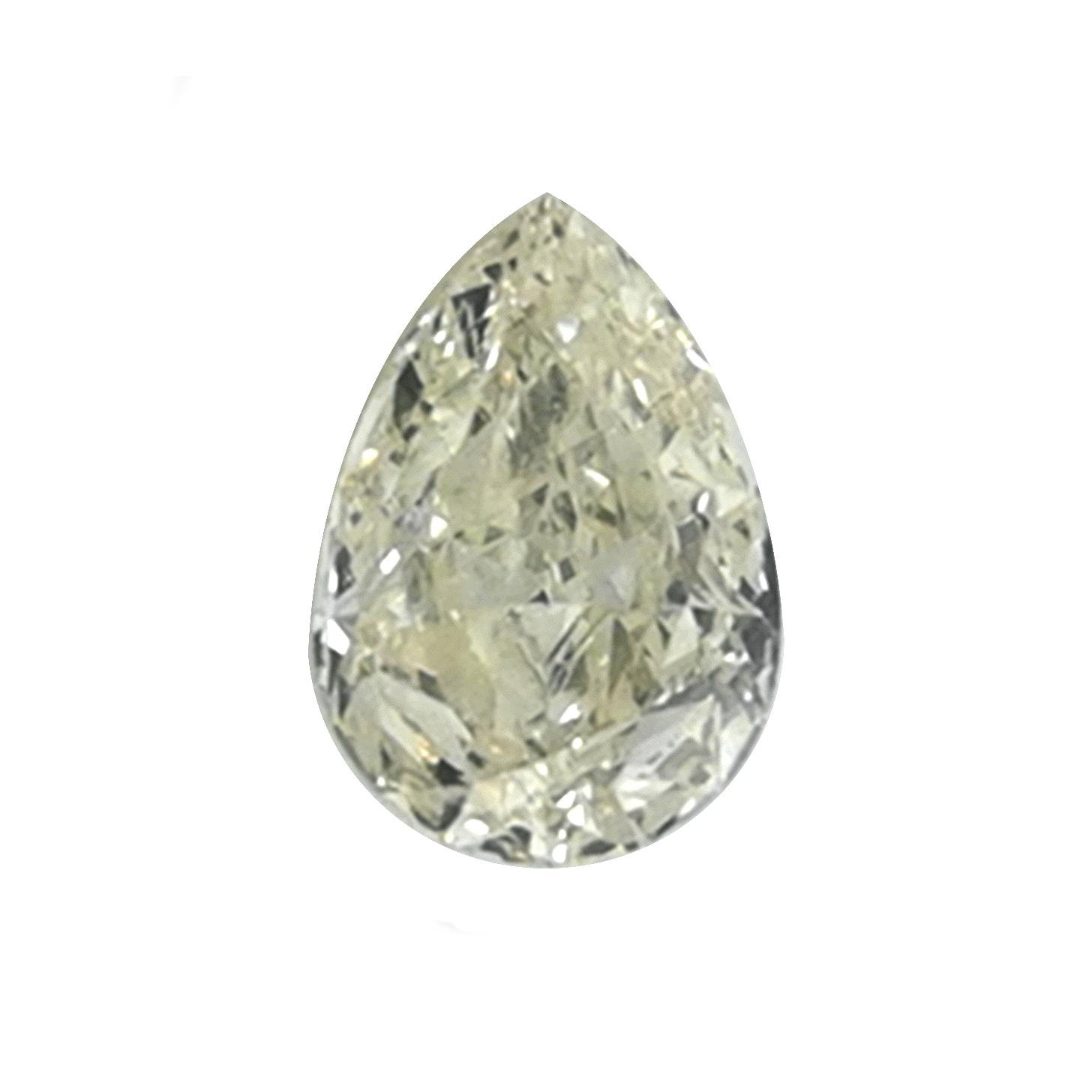 Diamant Tropfen, 1,04 ct, inkl. DPL-Expertise - Sammler Edelstien