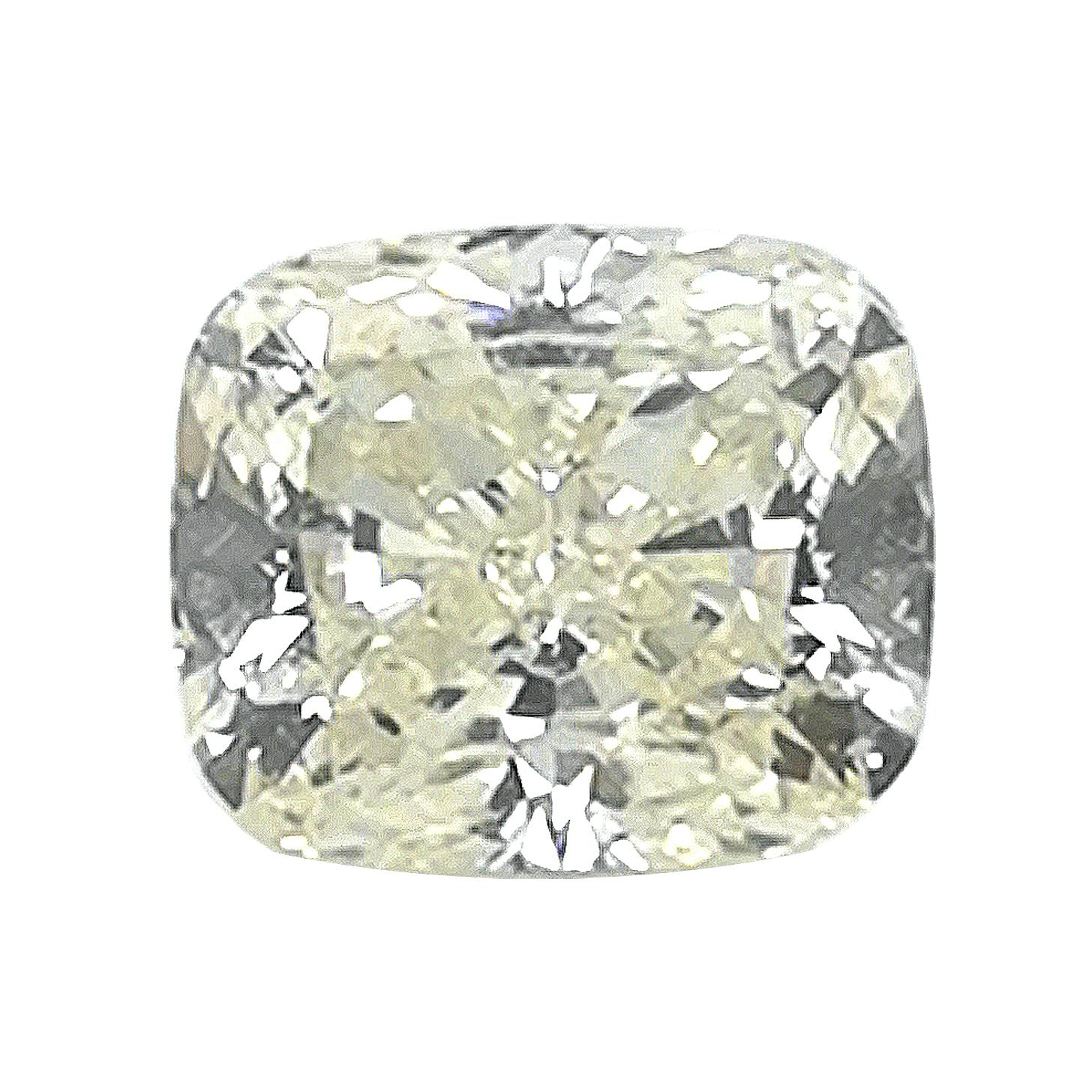 Diamant im Kissenschliff, 1,21 ct, inkl. DPL-Expertise – Sammler Edelstein