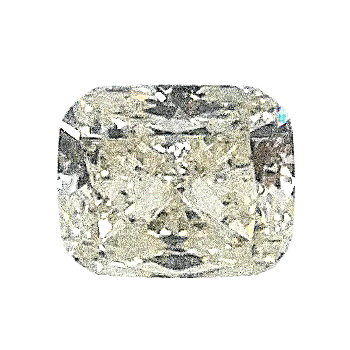 Diamant im Kissenschliff, 1,01 ct, inkl. DPL-Expertise - Sammler Edelstein